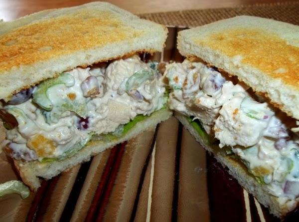 Creamy Pineapple Chicken Salad Recipe