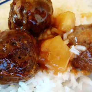 Pineapple Meatballs.