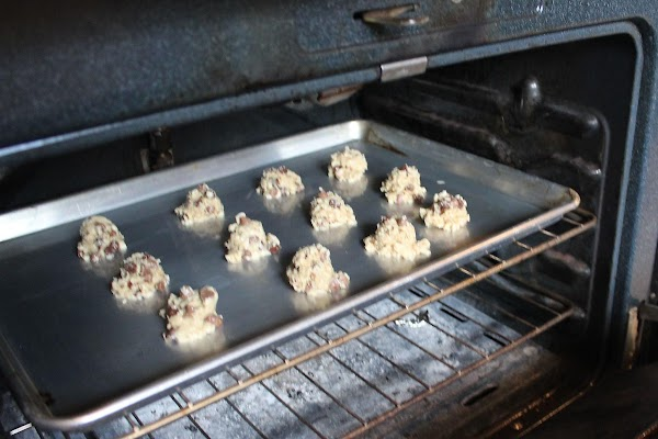 Bake for 8 to 10 minutes.