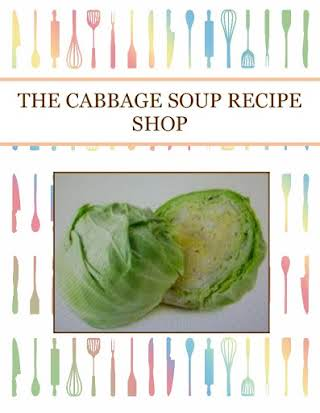 THE CABBAGE SOUP  RECIPE SHOP
