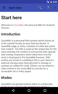 QusaWiki screenshot 7