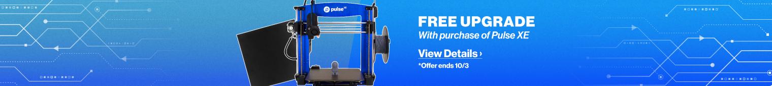 Pulse 3D Printer Promotion