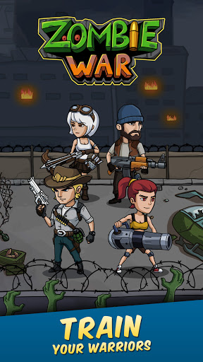 Zombie War: Idle Defense Game MOD APK Unlimited Gold