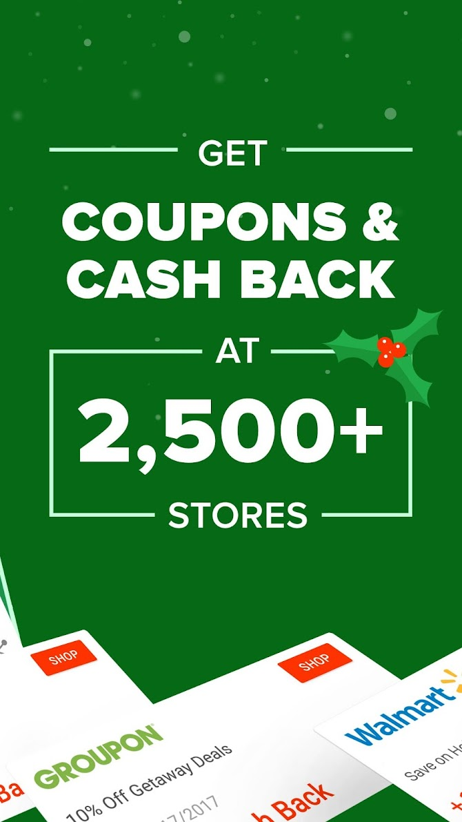 Ebates: Cash Back Rewards, Coupons & Promo Codes Android 2