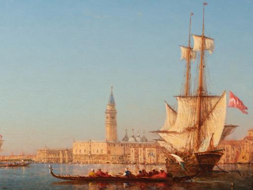 Felix ZIEM - Venise, le grand canal