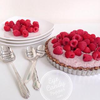 Raw Raspberry And Fig Tart (raw, Vegan, Sugar-free, Paleo, Gluten-free, Grain-free).
