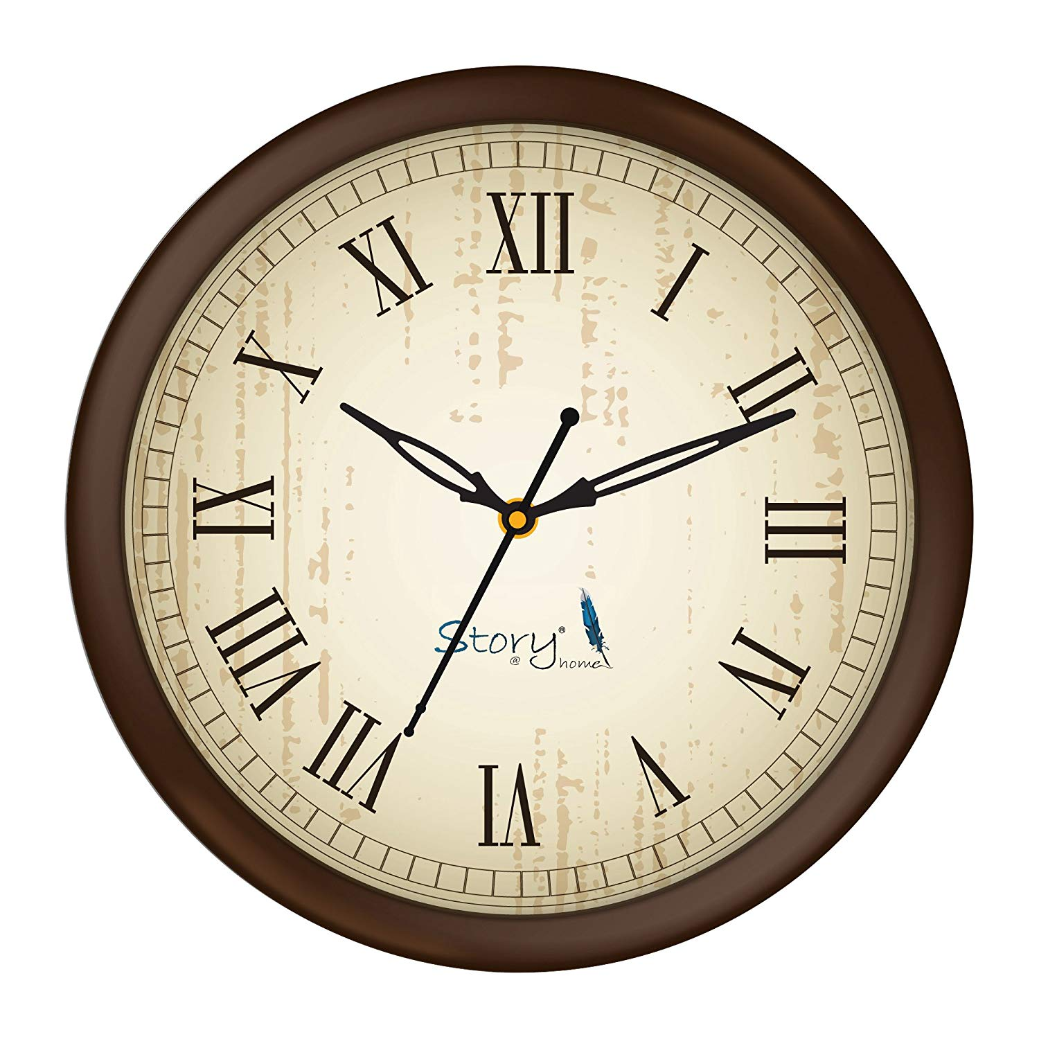 Story@Home 10-inch Round Shape Wall Clock