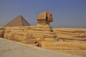 Photo: side of Sphinx