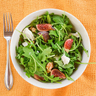 Fig and Goat Cheese Salad with Balsamic Vinaigrette