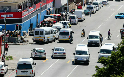 Taxis in Nelson Mandela Bay. File picture