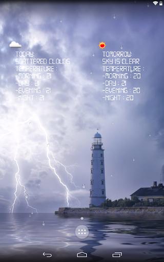 Storm - weather forecast