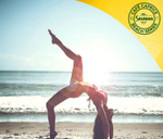 Cafe Caprice Sunset Beach Yoga Sessions : Cafe Caprice