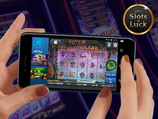 Игровые автоматы Slots of Luck screenshot 3