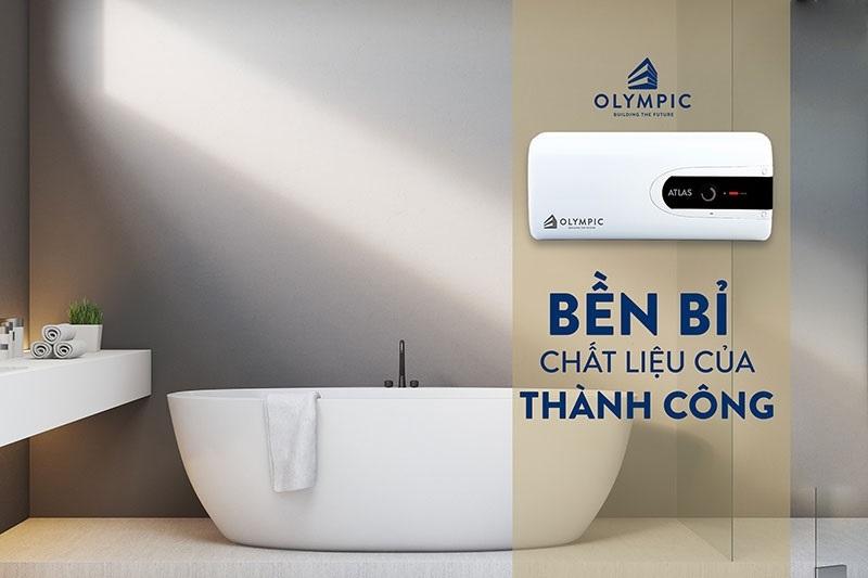 Bình nóng lạnh Olympic cho phòng tắm nhỏ gọn