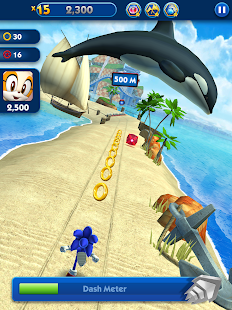 Sonic Dash - Endless Running & Racing Game Screenshot