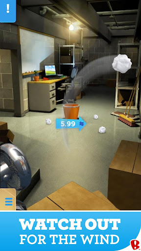 Paper Toss screenshot 2
