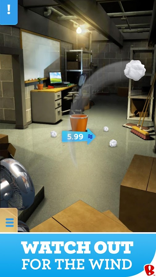 Paper Toss- screenshot