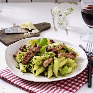 Sage and Basil Penne with Fennel Sausage.