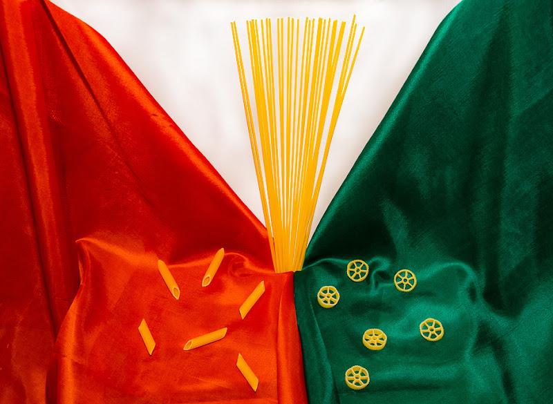 Tre paste italiane come i colori della nostra Italia... di gianluca_simotti