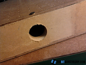 Photo: Hole to insert the vacuum cleaner