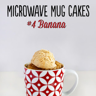 Microwave Mug Cakes – #3 Banana