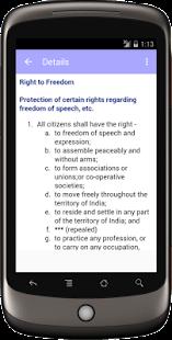 Constitution Of India screenshot