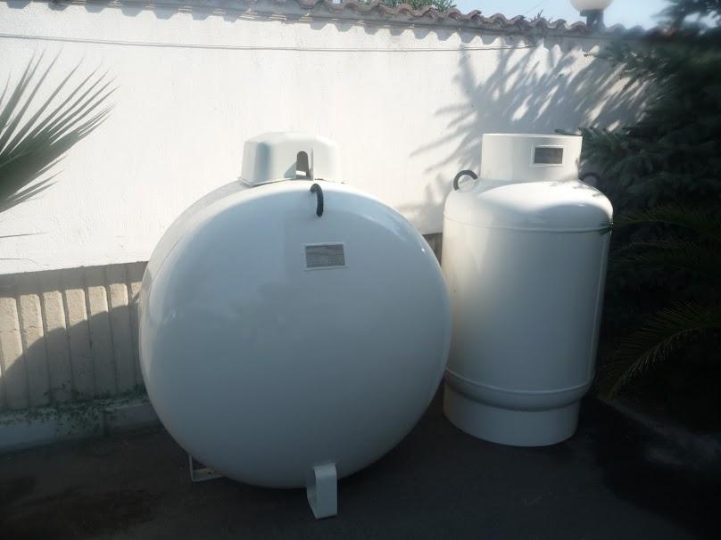 Zbiornik do przechowywania gazu płynnego (LPG)