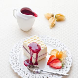 Raspberry, Yoghourt & Mascarpone mousse Cake