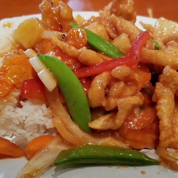 Gf sweet and sour chicken