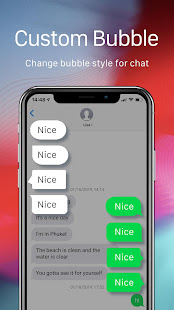 OS12 Messenger for SMS 2019 - Call app