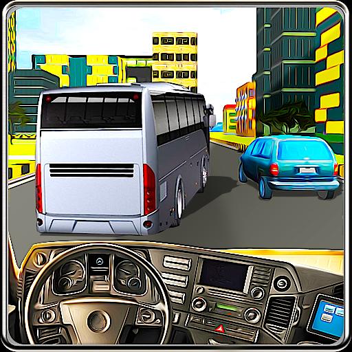 模擬App|巴士驾驶员现代城 LOGO-3C達人阿輝的APP