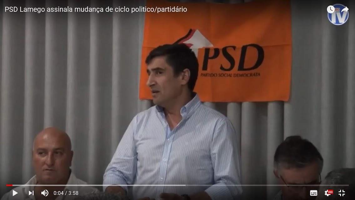 Vídeo - PSD Lamego assinala mudança de ciclo politico/partidário
