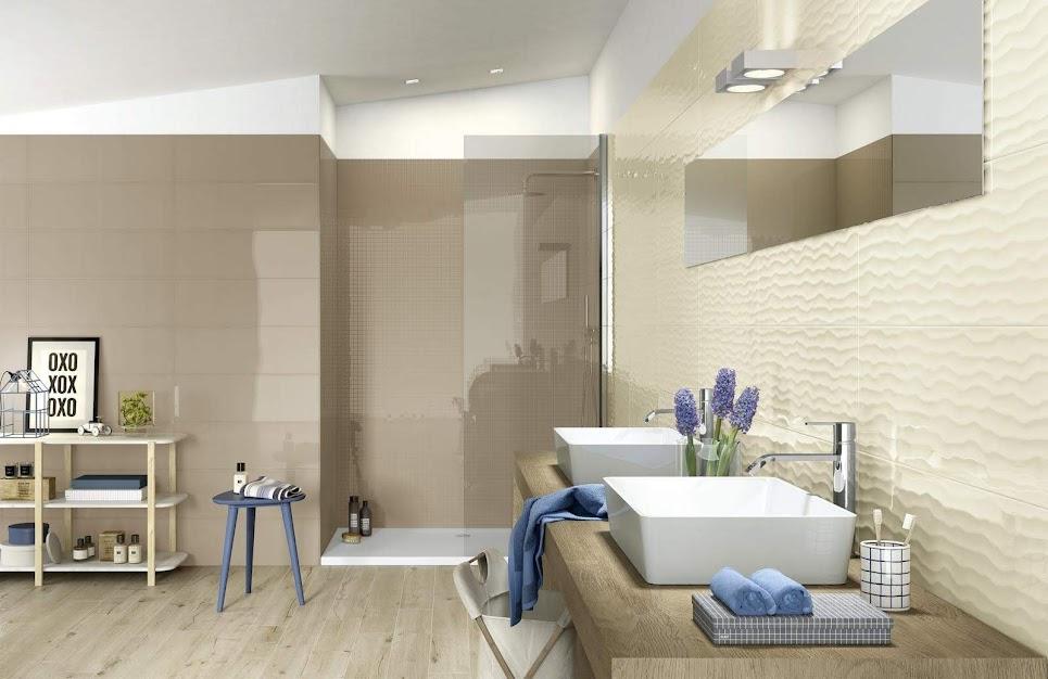 Ragno Frame - Cream, Khaki fürdőszoba