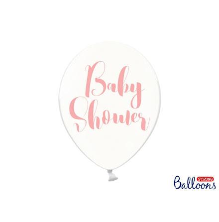 Ballonger Babyshower, rosa