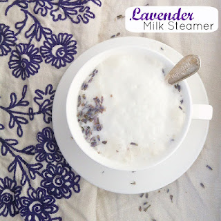 Lavender Milk Steamer