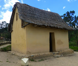 Photo: Replica of an Inca house