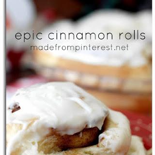 Epic Cinnamon Rolls.
