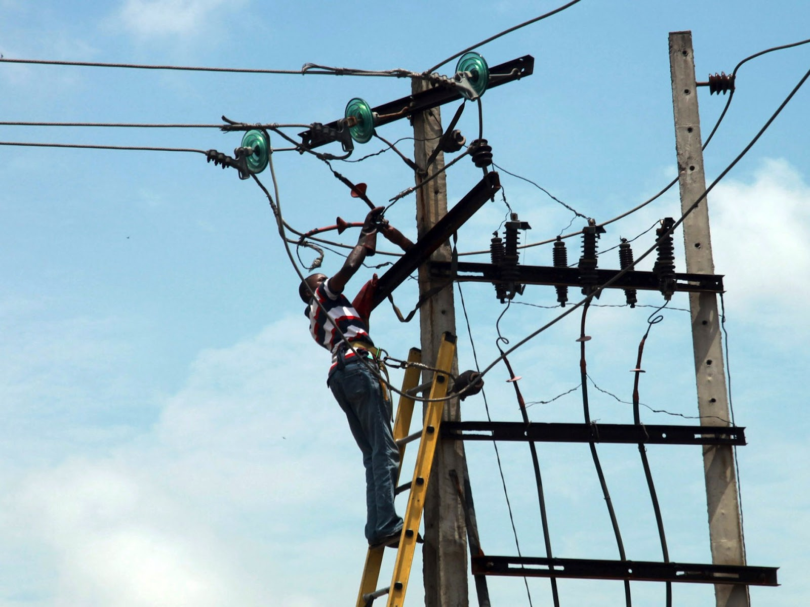 nigeria electrical pole