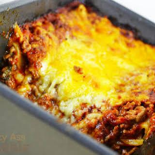 Lazy Lasagna.