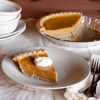 The Best Pumpkin Pie.