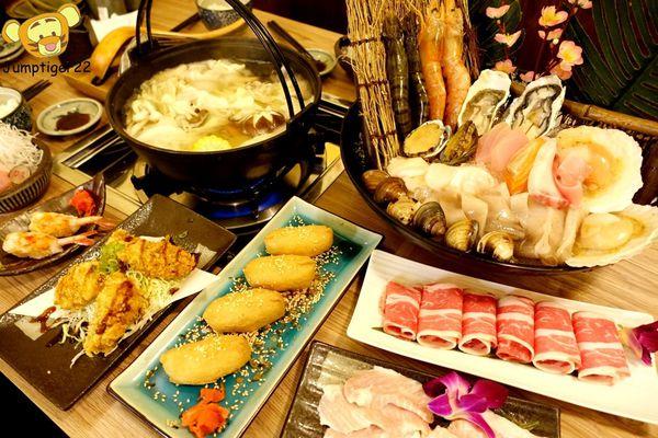 超狂龍蝦海陸大拼盤,巷弄中日式小宅大啖火鍋與壽司料理-五本日式料理&鍋物