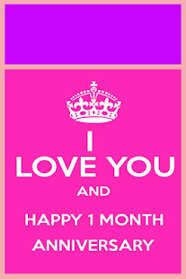 Happy Monthsary Greeting Cards