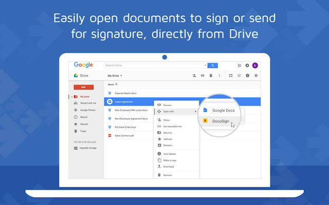 DocuSign - Secure Electronic Signature
