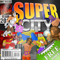 Super City (Superhero Sim) icon
