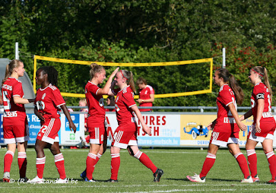 Super League : le Standard Femina assure contre Zulte Waregem