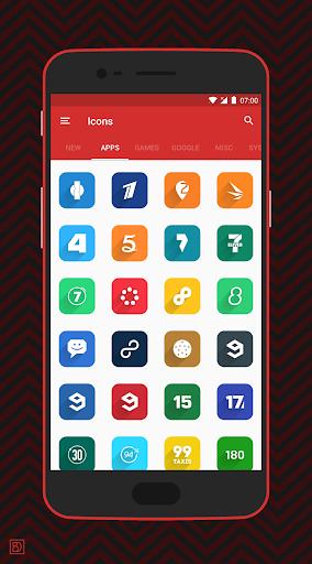 Elta - Flat Style Icon Pack screenshots 7