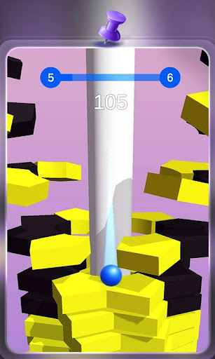 Happy Stack Ball-crush helix jump apkbreak screenshots 1