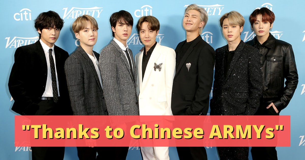 China Tries To Take Credit For BTS's GRAMMY Nomination And Their Billboard Hot 100 #1