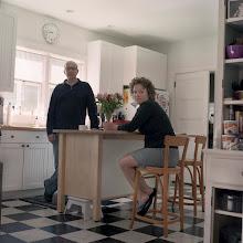 Photo: title: Mark Wethli & Cassie Jones, Brunswick, Maine date: 2011 relationship: friends, art, met through art world Portland years known: Mark 15-20, Cassie 5-10
