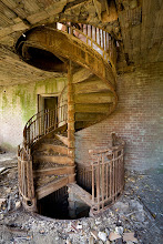 Photo: Spiral staircase on North Brother Island.